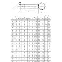 Buy cheap Hexagon head bolts ISO 4014-1999 from Wholesalers