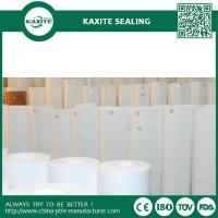Buy cheap Custom Designed PTFE teflon skiving roll PTFE Cut Plate PTFE Skived Sheet with recycled materials from wholesalers
