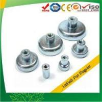 Buy cheap Pot Magnets with Internal Threaded Stud from Wholesalers