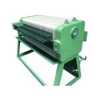 Buy cheap Chamber Filter Press (with Manual Jack) from Wholesalers