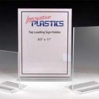 Buy cheap Acrylic Sign Holders With Clamps Model NumberP-Sign Holders-32 from Wholesalers