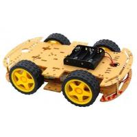 Buy cheap 4WD Smart Robot Car Chassis Kits for arduino with Speed Encoder from wholesalers