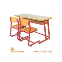 China Double Classroom Desk and Chair factory