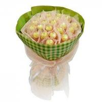 Buy cheap Birthday bouquet of 21 pieces of ferrero rocher NO.3 delivery birthday from Wholesalers