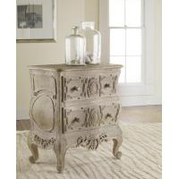 Buy cheap Chests & Dressers Carved French Bow Nightchest in Weathered Solids from Wholesalers