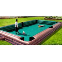 Buy cheap sports game inflatable human billiards,CUZU balls game from Wholesalers