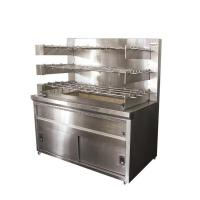 Buy cheap Inlet/Outlet Bench Charcoal/Gas Chicken Rotisserie from wholesalers