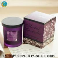 Buy cheap Flamless luxury soy scented candles glass jars from Wholesalers