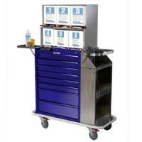 Buy cheap Cast Cart Painted Eight Drawer Deluxe Package with Top Compartment 6035-TC from Wholesalers