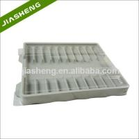 China Factory price Medical Plastic Tray for medicine bottles with Clear Cover factory