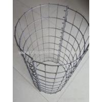Buy cheap Hot-dipped Galvanizing Round Style Welded Gabion Box from Wholesalers