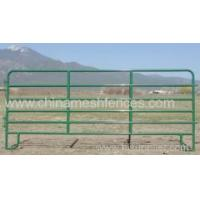 Buy cheap powder coated portable horse fencing panel for farm from Wholesalers