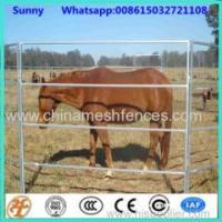 Buy cheap PVC coated 1.8x3m 6 rails used livestock panel fencing for cattle horse from wholesalers