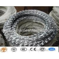 Buy cheap Haotian ss/galvanized razor wire factory from wholesalers