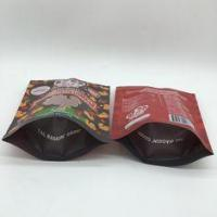 Buy cheap 40mm Bottom Guest Pet Food Bag Stand Up Pouches Pressure Resisitance from Wholesalers