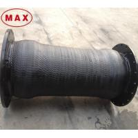 Buy cheap Strong Reinforced 12 inch Rubber Hose Pipe with Flanged Joint from Wholesalers