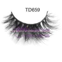 Buy cheap Naked mink strip lashes-NM14 from Wholesalers
