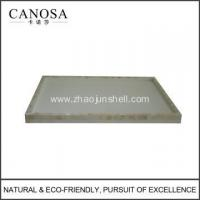 Buy cheap Hot Sale River Shell Hotel Bathroom Tray for Wholesale from Wholesalers