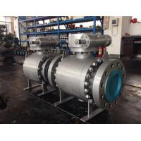 Buy cheap forged trunnion ball valve from Wholesalers