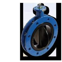 Buy cheap Rubber Seat Flange Butterfly Valve from Wholesalers