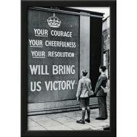 Buy cheap Motivational UK WWII Propaganda Your Courage Archival Photo Poster Print from Wholesalers