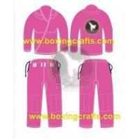 Buy cheap BJJ GI PINK BJJ GOLD WEAVE UNIFORM from Wholesalers