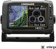 China Lowrance HDS-7m Gen2 Touch Insight GPS Chartplotter factory