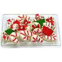 Christmas Sweets on Clear Tray BDK1161