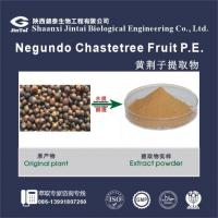 Buy cheap Negundo chastetree fruit extract/negundo chastetree fruit extract/Vitex negundo L extract from Wholesalers