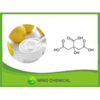 China Food Grade Citric Acid Crystal Powder on sale
