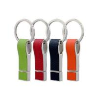Buy cheap custom cheap promotional leather usb stick usb flash drive from Wholesalers