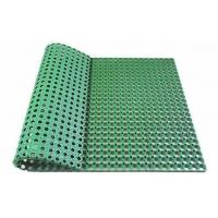 Buy cheap Grass Rubber Mat Artificial Grass Rubber Mat,football Grass Filled with EPDM Rubber Granules from wholesalers