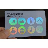 China Silver metallic background card factory