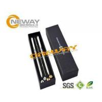 China Business Pen Set Plastic Packing Boxes / USB Pen Drive Gift Box factory