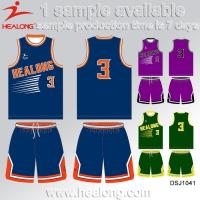 Buy cheap Custom Cheap Sublimation Baby Basketball Jersey Uniform Set from wholesalers