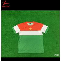 Buy cheap Green Color Sublimation Teamwear Soocer Football Jersey Shirts from wholesalers