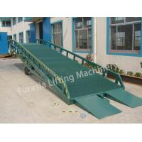 Buy cheap Mobile Loading Ramp 6tons -15tons Mobile loading ramp from Wholesalers