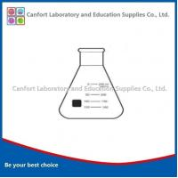 Buy cheap Laboratory glassware LG008ERLENMEYER FLASKS, narrow mouth, boro 3.3 from Wholesalers