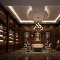 Buy cheap Project Rendering Luxury European Style Classic Library Render Interior Design Renderings from Wholesalers
