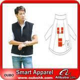 Buy cheap Apparel Fashion Waistcoat For Men Design with electric heating system heated clothing warm OUBOHK from Wholesalers