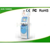 Buy cheap Multi Touch Hospital Check In Kiosk For Patient , Push And Pull Medical Office Check In Kiosk from Wholesalers