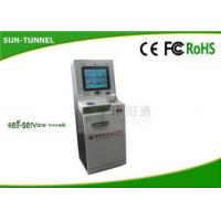 Buy cheap 110 - 120V Power Echeck Self Service Check In Kiosk For Heathcare Center from Wholesalers