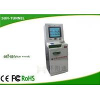 Industrial Self Service Check In Kiosk Station 19 Inch LCD Monitor