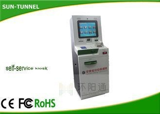 Quality Industrial Self Service Check In Kiosk Station 19 Inch LCD Monitor for sale