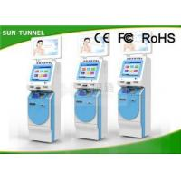 Buy cheap Healthcare Self Service Check In Kiosk With Insurance Social Card / ID Card Reader from Wholesalers