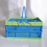 Buy cheap Injection plastic folding basket, injection plastic vegetable/ fruit/washing basket mould, from Wholesalers