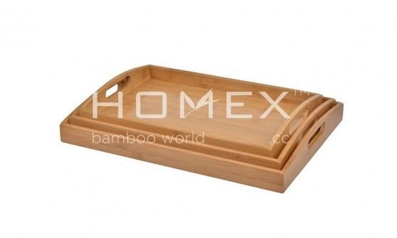 Quality x Bamboo Serving Tray for sale