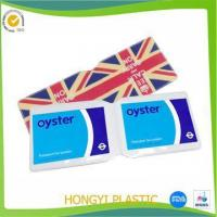 China printing oyster card holder factory