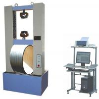 Buy cheap WDT-100 WDT-100 plastic pipe load-carrying properties testing machine from Wholesalers