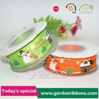 Wholesale Orange/Green Christmas Craft Ribbon